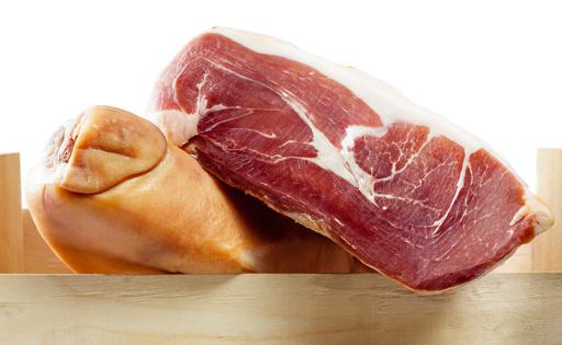 Snacks para perros de jamón serrano. Ham treats for dogs